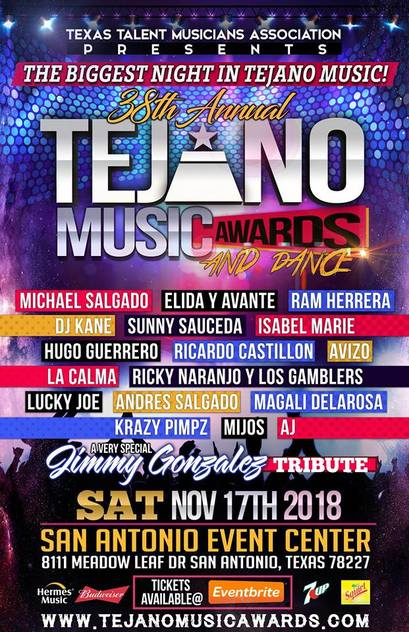 2018 38th annual Tejano Music Awards